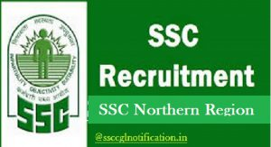 SSC NR Recruitment 2018 - Apply Online at www.sscnr.net.in, ssc northern Region, NR SSC Jobs 2018