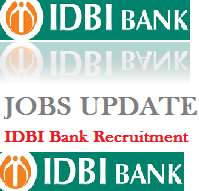 IDBI recruitment 2018- Apply Online at www.idbi.com, IDBI Bank Jobs 2018, The Industrial Development Bank of India